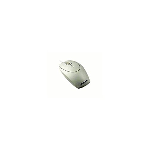 (Cherry Electronics M-5400 Cherry Electronics, Accessory, Optical Mouse, Black, Scroll Wheel, Ps/2, USB Connectors, Standard Business Design, Light Gray )