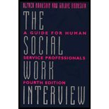 The Social Work Interview by Kadushin,Alfred. [1997,4th Edition.] Paperback