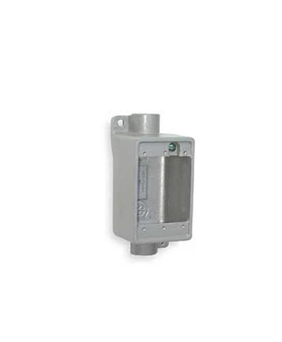 Crouse-Hinds FDC1 Condulet Single Gang Cast Device Box, 1/2-Inch ()