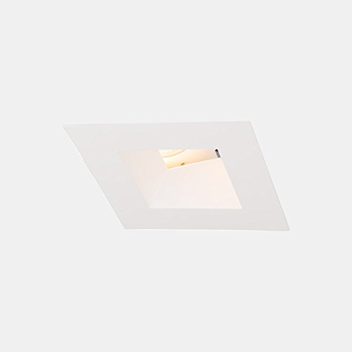WAC Lighting R3ASAT-S827-WT Aether Square Adjustable Trim with LED Light Engine Spot 15 Beam 2700K Warm White