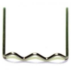 E-Z Red EZPU8 Heating Repair Pins .8Mm U-Shaped 100/Bx