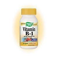 Nature's Way Vitamin B-1 100 Mg - 100 Capsules ( 7-Pack) by Nature's Way