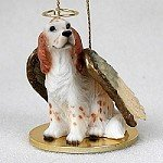 English Setter Belton Orange Pet Angel - Setter Dog English Figurine