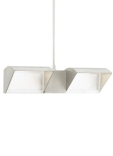 Tech Lighting 700FJIBISWWDL318S Free Jack-IBIS Wall Wash Double LED3000 18, S, 20.4'' x 10.625'' x 6.8'', Satin Nickel