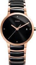 Rado-Centrix-Jubile-Black-Dial-Black-Ceramic-Mens-Watch-R30554712