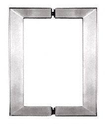 C.R. LAURENCE SQ6X6BSC CRL Brushed Satin Chrome 6