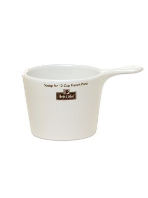 Peet's Logo Coffee Scoop - For 12c Press Pot