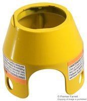 PB MUSHROOM GUARD YELLOW ZBZ1605 By SCHNEIDER ELECTRIC