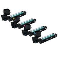 Magicolor Color Laser Printer (Konica Complete 4 Color Minolta Hi Yield Toner Set for Magicolor 3730DN Laser Printer, Includes: Black, Cyan, Yellow, Magenta by Konica-Minolta)