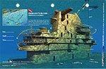 Art to Media Dive Map - Oriskany's Island