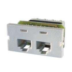 (Ortronics Series II Blank Module, 1U, Fog White, Pack of 10 OR-40300191)