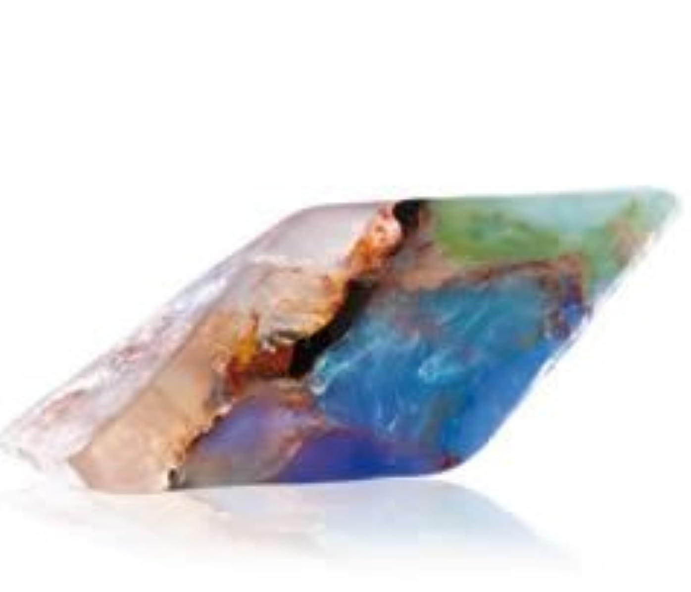 気づく乱雑な提唱するSavons Gemme サボンジェム 世界で一番美しい宝石石鹸 フレグランスソープ ブラックオパール 170g