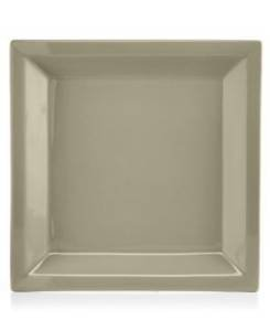 Martha Stewart Collection Harlow Oyster Shell Square Salad Plate