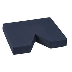 """Coccyx Seat Cushion 16"""" x 18"""" x 3"""" with Navy Cover [Qty 1 (Single)]"""