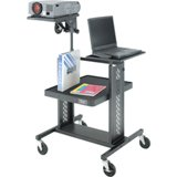 Da-Lite Adjustable Projector Table with 7