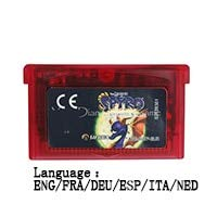 ROMGame 32 Bit Handheld Console Video Game Cartridge Card The Legend Of Spyro The Eternal Night Eng/Fra/Deu/Esp/Ita/Ned Language Eu Vers Clear red shell