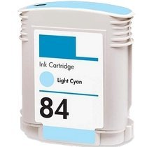 Lovetoner Compatible Replacement for Replacement for HP C5017A (84) Ink/Inkjet Cartridge Light Cyan
