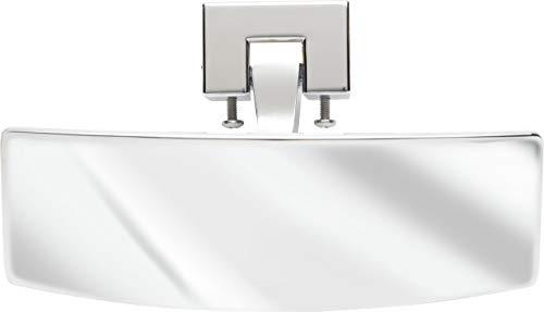 attwood 3000.1201 9083-7 Perma-Plate Shatter-proof 180-Degree Convex Adjustable Marine Boat Mirror
