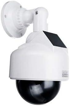 Solar Power Fake Camera CCTV Realistic Dummy Security Cam Simulation Monitor - Security Cameras Fake Camera