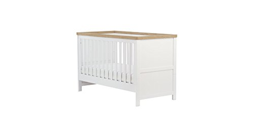 Mothercare Sleigh Cot Bed White