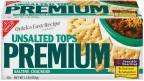 Premium Crackers Saltine Unsalted Tops 16 OZ (Pack of 24) by Premium