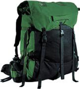 Chinook Chemun Portage Pack (Green/Black), Outdoor Stuffs
