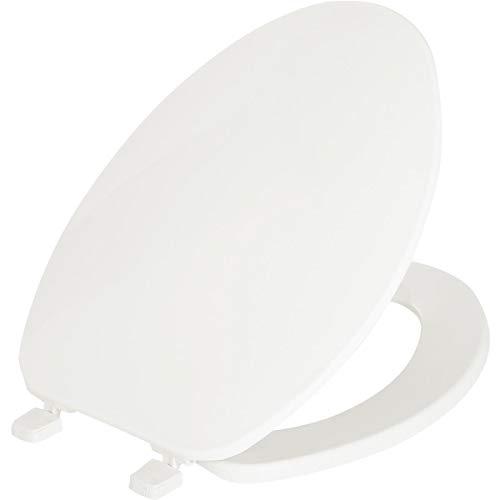 Bemis 170-000 WHT PLATIC White ELG Cfwc Economy Plastic Seat Top Hinge Hex-Tite Fastener