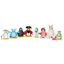 Disney Club Penguin Exclusive 2 Inch Mix N Match Mini Figure Set