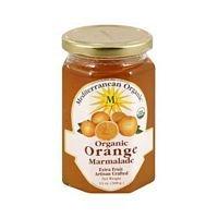 Mediterranean Organic Organic Orange Marmalade 13 oz. (Pack of 12) by Mediterranean Organics
