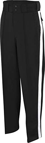 Adams Football Officials Pants - Black/White Stripe, 38""