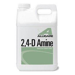 ALLIGARE 2,4 D Amine Herbicide 2.5 Gallon- Broadleaf Weed Killer