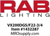 RAB Lighting Vaporproof CFL Outdoor Close to Ceiling Light