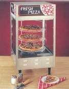 Nemco 6452 Pizza Merchandiser, 4 Tier, Rotating, 18'' Diameter