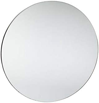 SOURCEONE.ORG Source One Shatter Proof Round Centerpiece Acrylic Mirror