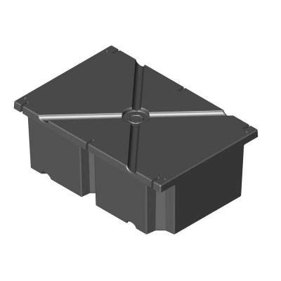 24 in. x 36 in. x 12 in. Dock System Float Drum