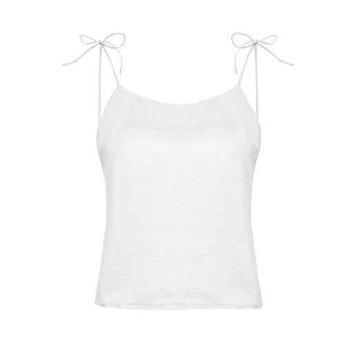 6d11495588e Tanhangguan Fashion Women Bandage Camisole Vest Girls Sexy Tank Tops Blouse  White by Tanhangguan Womens Tops
