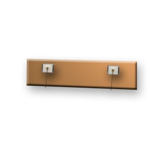 Fabric/Cubicle Partition Nameplate Pins - Pack of 20