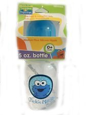 Sesame Street Beginnings Baby Big Bird 9 oz Bottle Medium Si