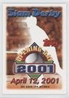 April 12, 2001 (Baseball Card) 2001 Topps Opening Day - Slam Derby Sweepstakes Entries #4-12