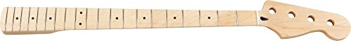 Mighty Mite MM2909 Jazz Bass Replacement Neck with Maple Fingerboard by Mighty Mite