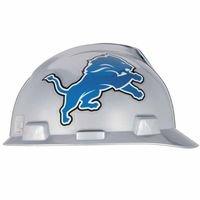 Mine Safety App - Standard V-Gard Hard Capw/Detroit Lions Logo, Sold As 1 Each