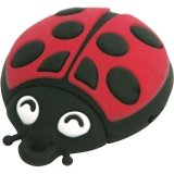 Memorex USB 2.0 LadyBug Flash Drive (Memorex Usb Connector)