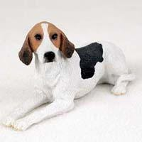 American Foxhound Dog Figurine