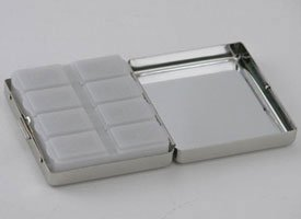 8 DAYS A WEEK PILL BOX - 8 DAYS A WEEK PILL BOX, NICKEL PLATED. by Creative Gifts International