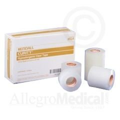 - Curity Hypoallergenic Clear Tape - 1