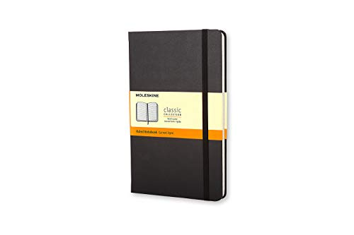 - Moleskine Classic Notebook, Hard Cover, Pocket (3.5