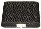 8-Reed Oboe Reed Case Silk with clips (Black Egyptian) by Oboes.ch (Image #2)