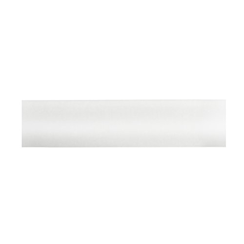 BEME International 1-3/8-Inch Diameter Round Wood Drapery Rod, 96-Inch, White