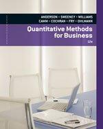Quantitative Methods for Business, 12th Edition pdf