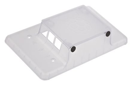 RS Raspberry Pi 7-Inch LCD Touch Screen Case, Clear
